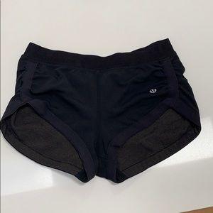 Lululemon Black Booty Shorts - 6/S